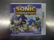 NINTENDO 3DS Game SONIC GENERATIONS
